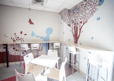 CAFETERÍA CLÍNICA INDISA LOS ESPAÑOLES